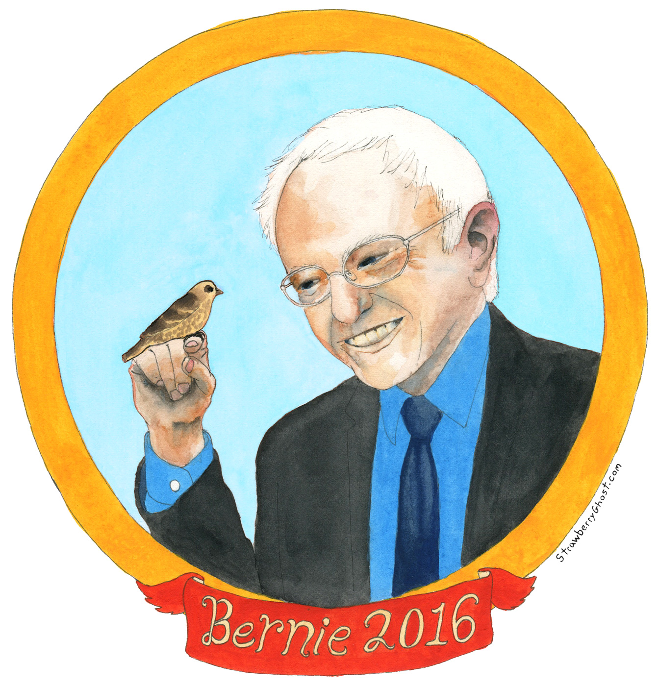 Bernie And His Bird